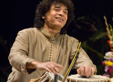 Zakir Hussain and Rakesh Chaurasia