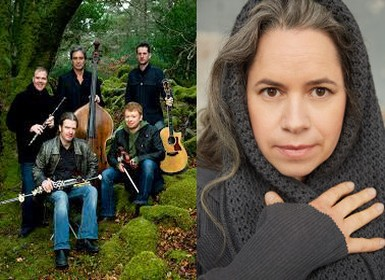 Lunasa with Natalie Merchant