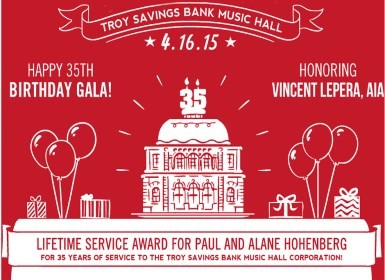 Celebrate 35 years of music at the Hall's annual Gala!