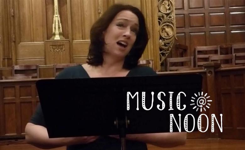Music @ Noon: Carla Fisk, Soprano