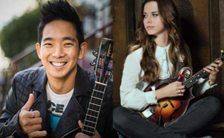 Jake Shimabukuro and Sierra Hull