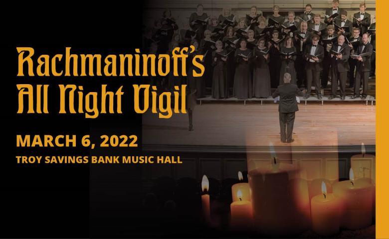 Albany Pro Musica presents 'Rachmaninoff's All Night Vigil'