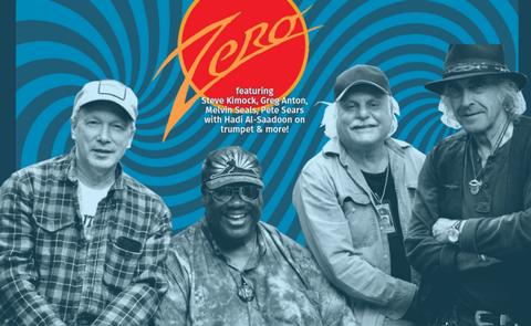 Zero -Steve Kimock, Greg Anton, Melvin Seals, Pete Sears, & Hadi Al-Saadoon